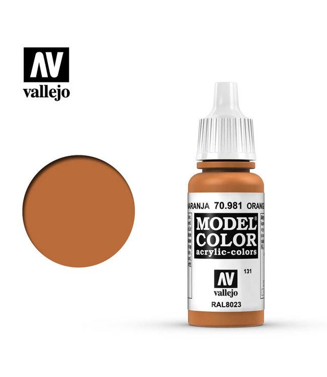 Vallejo Model Colour - Orange Brown