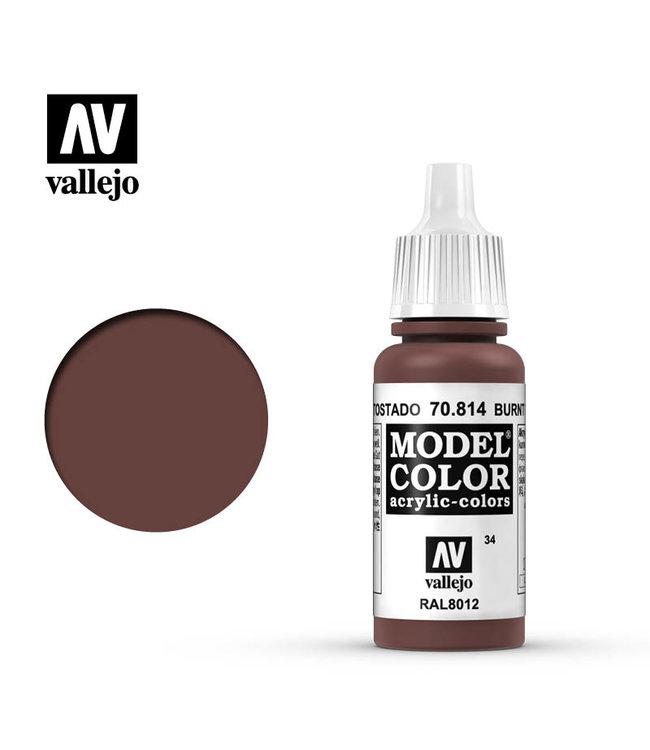 Vallejo Model Colour - Burnt Cadmium Red