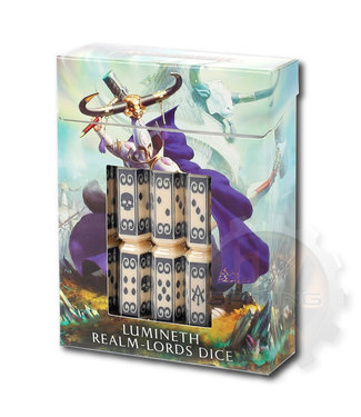 Age Of Sigmar Lumineth Realm-Lords Dice Set