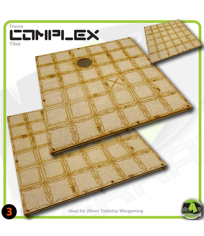 MAD Gaming Terrain Small Room Tile Pack