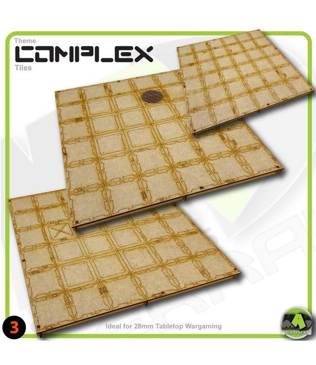 MAD Gaming Terrain Medium Room Tile Pack