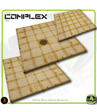 MAD Gaming Terrain Large Room Tile Pack