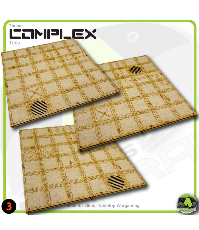MAD Gaming Terrain Open Area Tile Pack-1