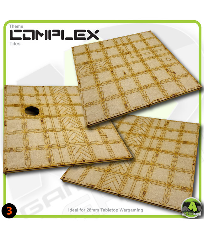 MAD Gaming Terrain Open Area Tile Pack-2
