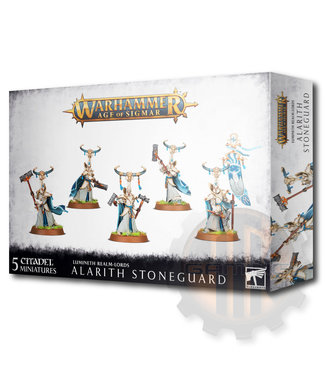 Age Of Sigmar Lumineth Realm-Lords: Alarith Stoneguard