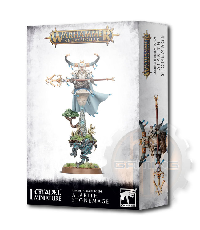 Age Of Sigmar Lumineth Realm-Lords: Alarith Stonemage