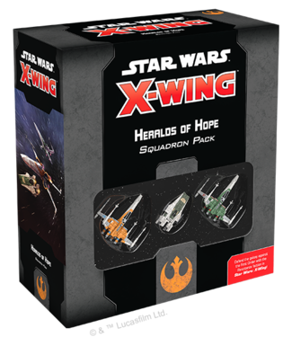 Star Wars X-Wing Heralds of Hope Squadron Pack