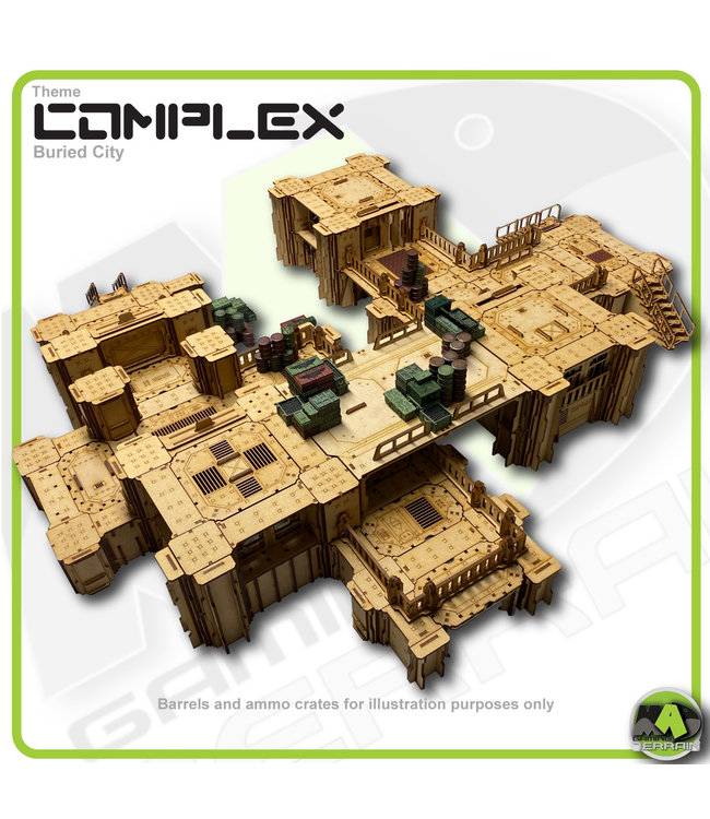 MAD Gaming Terrain Buried City - Standard Edition Bundle