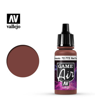 Vallejo Game Air - Red Terracotta