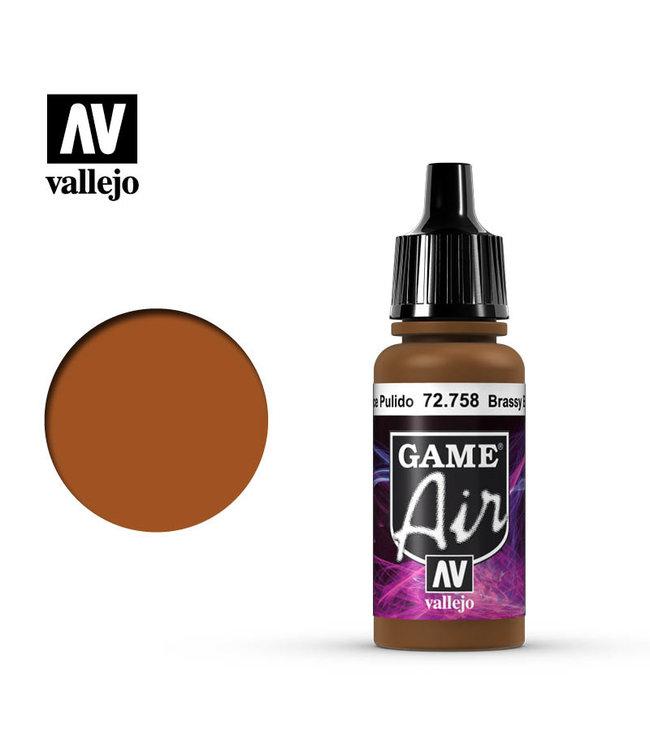 Vallejo Game Air - Brassy Brass