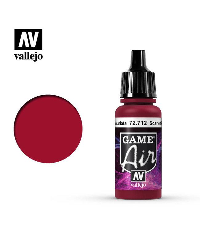 Vallejo Game Air - Scarlett Red