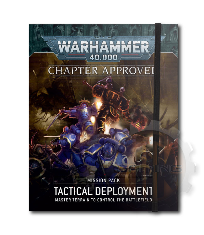 Warhammer 40000 40K:Tactical Deployment Mission Pk