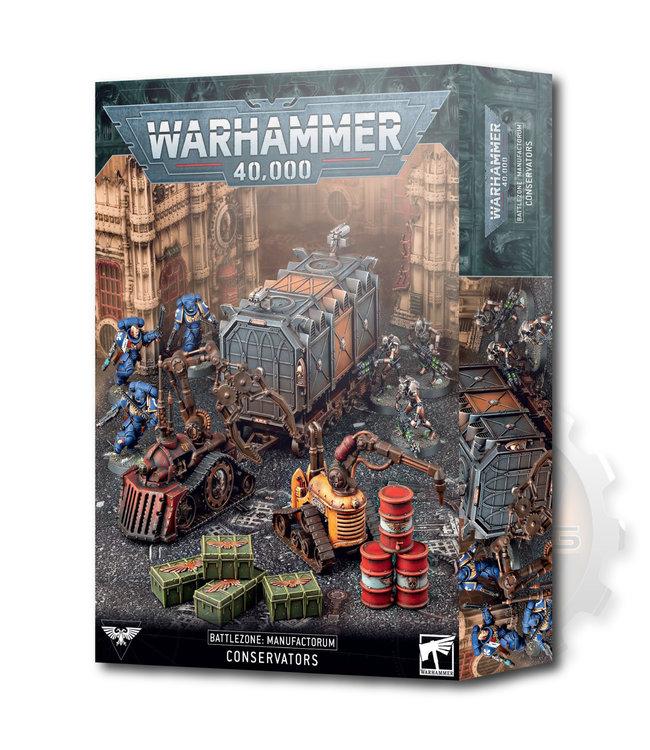 Warhammer 40000 Battlezone Manufactorum: Conservators