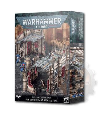 Warhammer 40000 B/Z Manuf.: Sub-Cloister & Storage Fane
