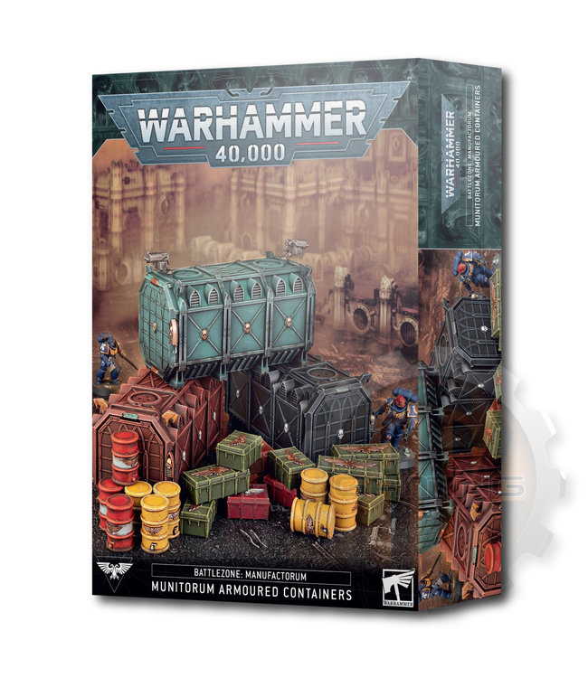 Warhammer 40000 B/Z Manuf.:Munitorum Armoured Containers
