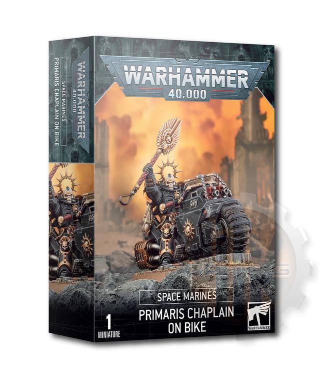 Warhammer 40000 Space Marines: Primaris Chaplain On Bike