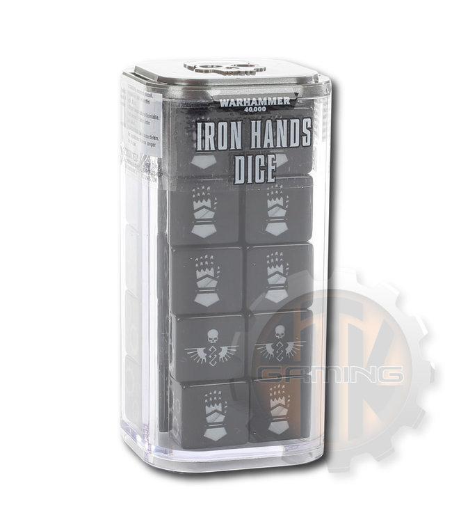 Warhammer 40000 Iron Hands Dice Set