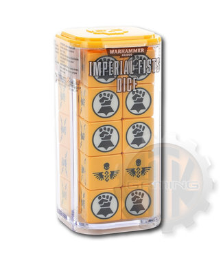 Warhammer 40000 Imperial Fists Dice Set