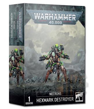 Warhammer 40000 Necrons Hexmark Destroyer