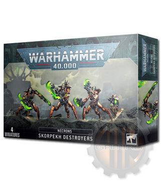 Warhammer 40000 Necrons Skorpekh Destroyers