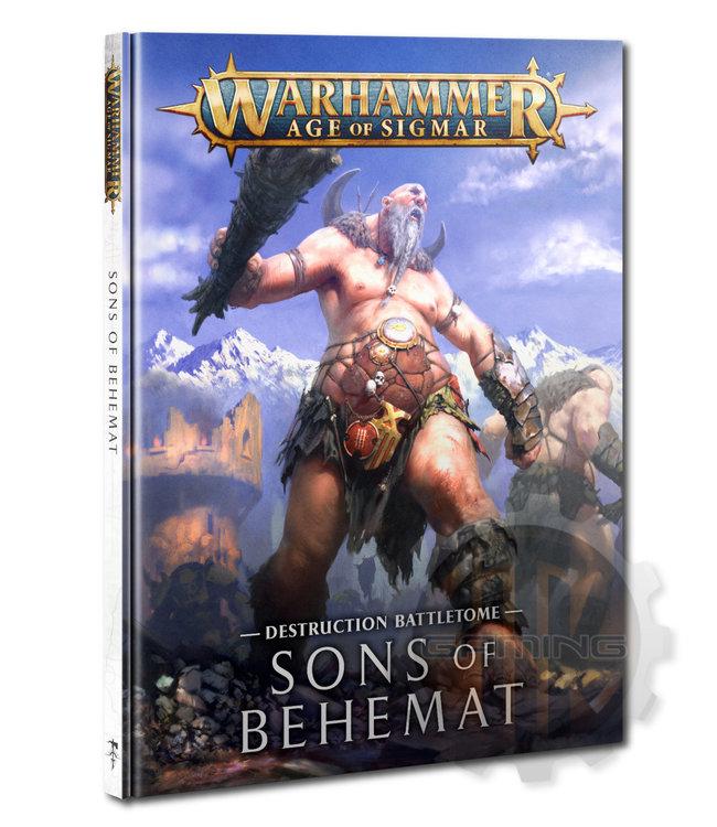 Age Of Sigmar Battletome: Sons Of Behemat (Hb)