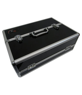 Kaiser Rushforth Standard Black Aluminium (Double Lid)