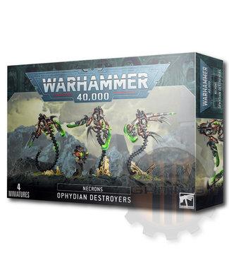 Warhammer 40000 Necrons Ophydian Destroyers