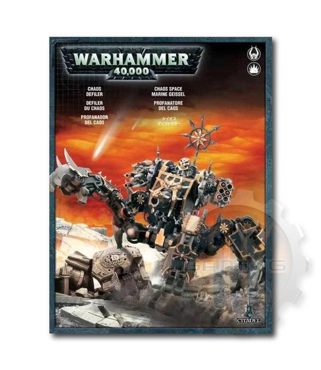Warhammer 40000 #Chaos Space Marine Defiler