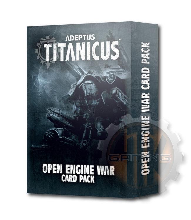Adeptus Titanicus Ad/Titanicus: Open Engine War Card Pack