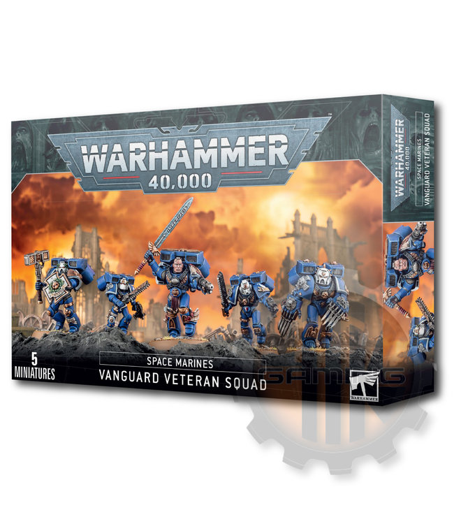 Games Workshop Space Marine Vanguard Veteran Squad