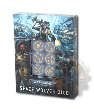 Warhammer 40000 Space Wolves Dice
