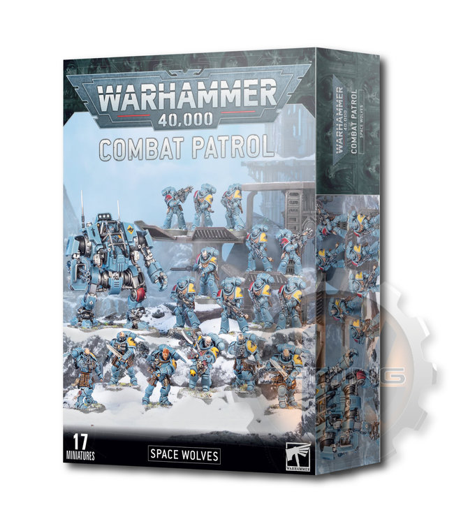 Warhammer 40000 Combat Patrol: Space Wolves