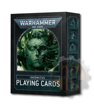 Warhammer 40000 Warhammer 40000: Indomitus Playing Cards