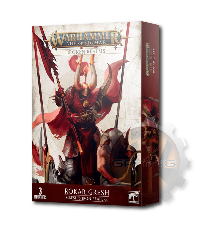 Age Of Sigmar Broken Realms: Gresh'S Iron Reapers