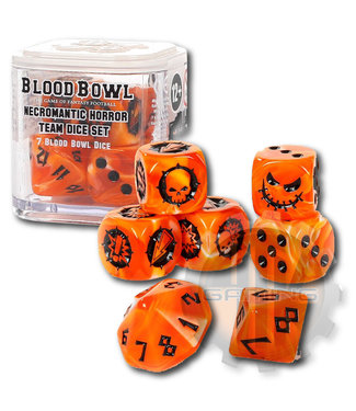 Blood Bowl Blood Bowl: Necromantic Horror Team Dice