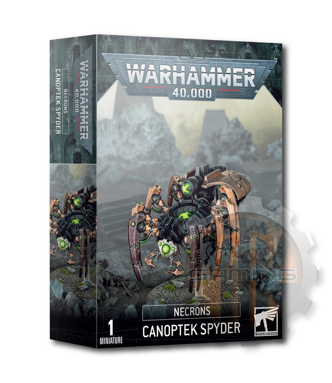 Games Workshop Necron Canoptek Spyder