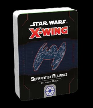 Star Wars X-Wing Separatist Alliance Damage Deck