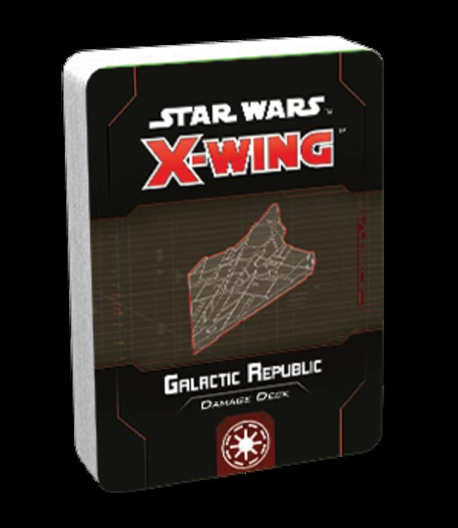 Star Wars X-Wing Galactic Republic Damage Deck
