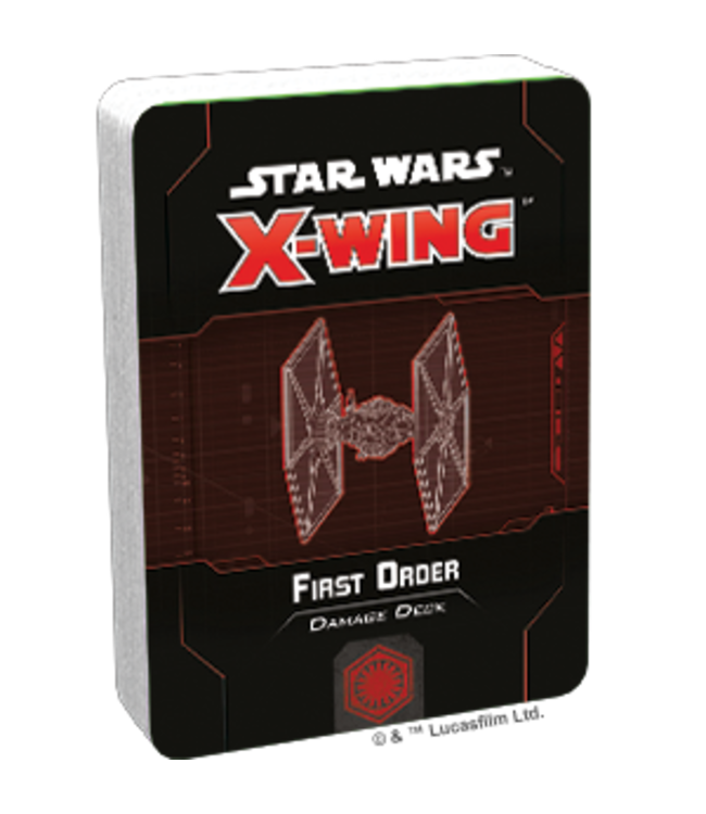 Star Wars X-Wing First Order Damage Deck