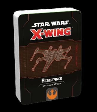 Star Wars X-Wing Resistance Damage Deck
