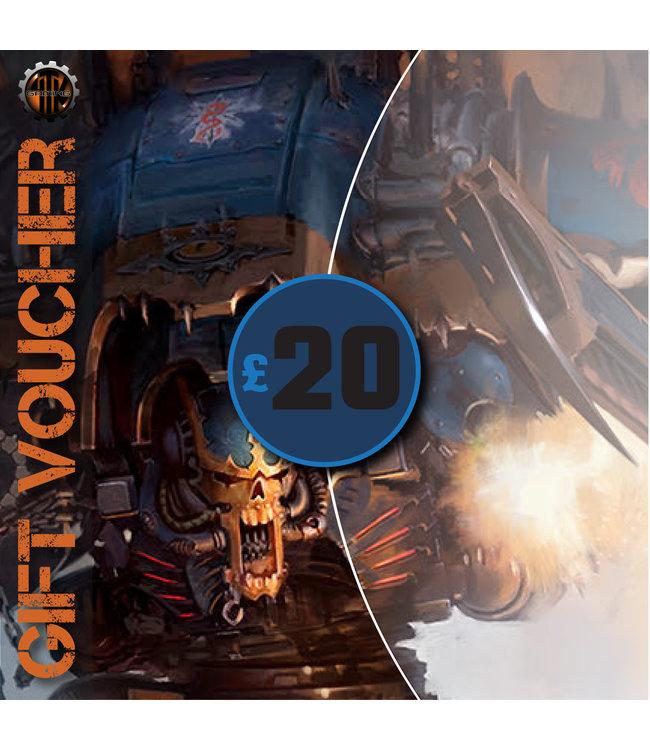 4Tk Gaming Voucher £20