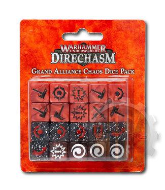 Warhammer Underworlds Whu: Grand Alliance Chaos Dice Pack