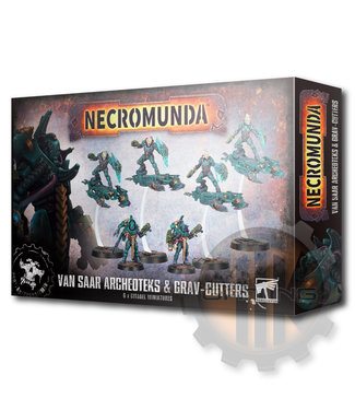 Necromunda Necro: Van Saar Archeoteks & Sky-Cutters