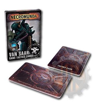 Necromunda Necromunda: Van Saar Gang Tactics Cards