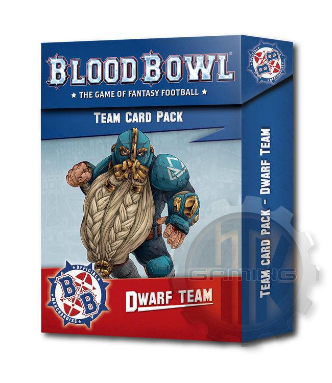 Blood Bowl Blood Bowl: Dwarf Team Card Pack