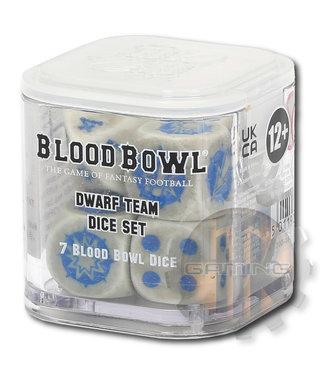 Blood Bowl Blood Bowl: Dwarf Team Dice Set