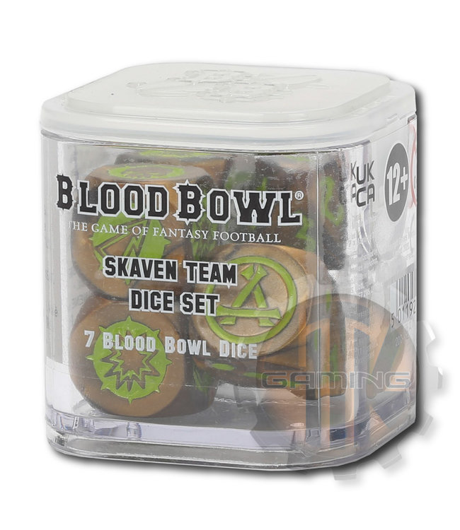 Blood Bowl Blood Bowl: Skaven Team Dice Set