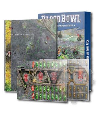 Blood Bowl Blood Bowl: Skaven & Dwarf Pitch