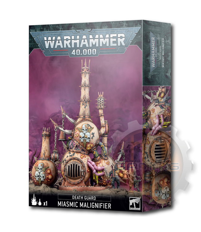 Warhammer 40000 Death Guard: Miasmic Malignifier