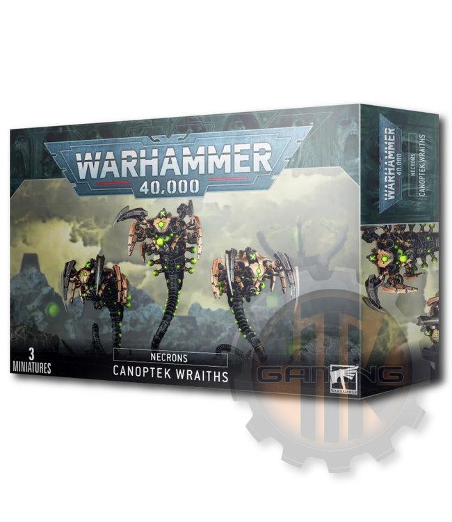 Games Workshop Necron Canoptek Wraiths